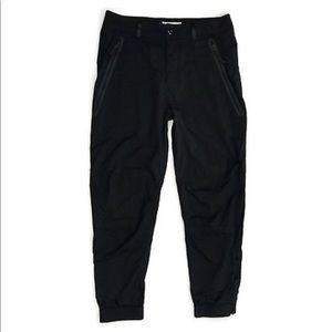 Nike 100% Nylon Windbreaker Pants Zipper Pockets
